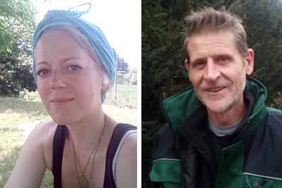 Analena Krause und Michael Frommer machen Ihren Garten schön