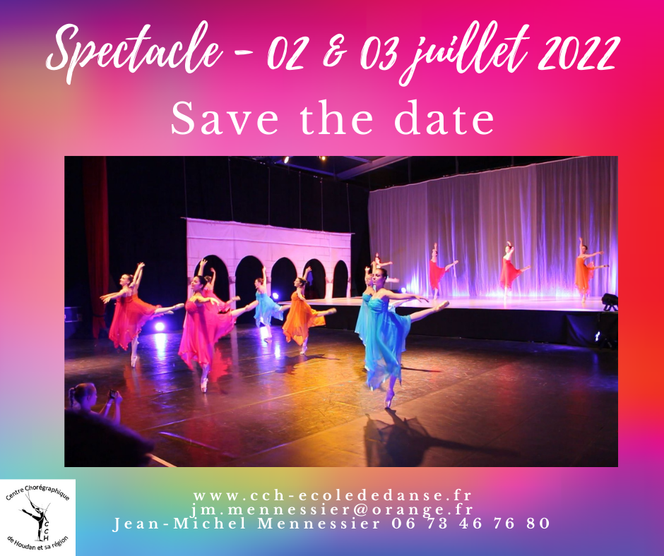 Spectacle 2022 : Save the date !