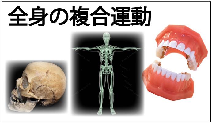 顎関節症は全身の影響