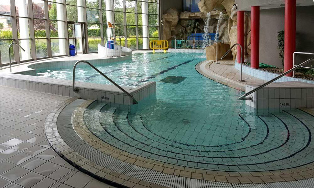 Bassin ludique de 120 m²