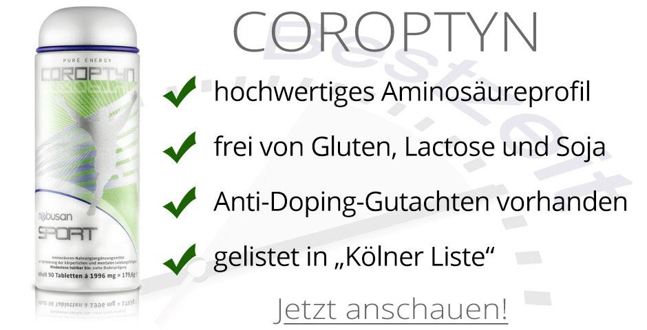 COROPTYN mit hochwertigen Aminosäuren