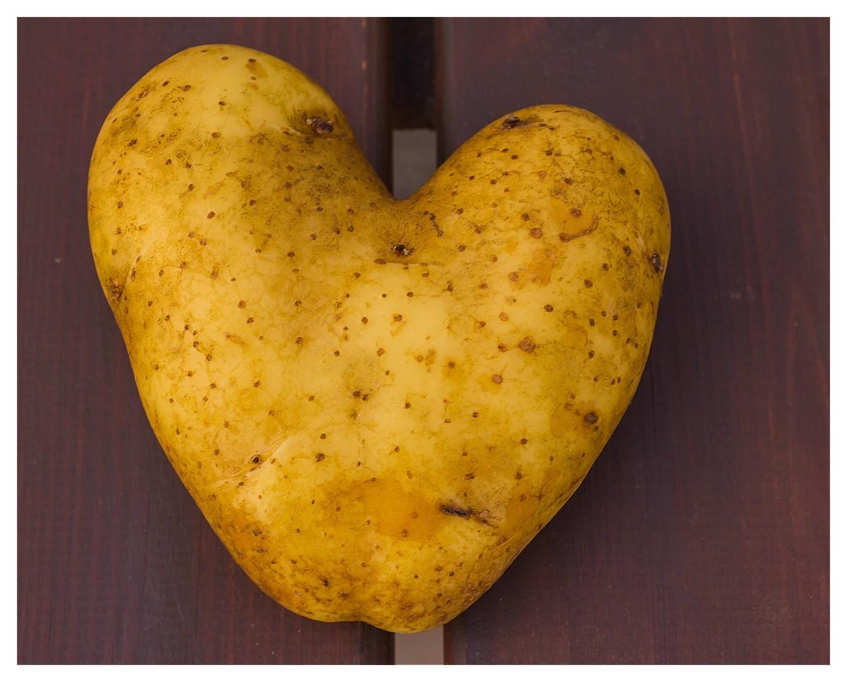 nicht allatägliche Kartoffelform
