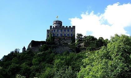 Burg Pyrmont, erbaut im 12. Jahrhundert