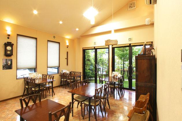 土岐の老舗が始めた和風スイーツカフェ