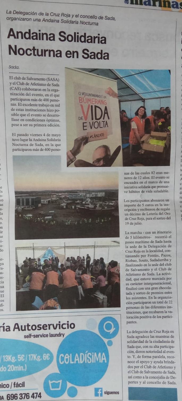 As Mariñas Mayo 2018