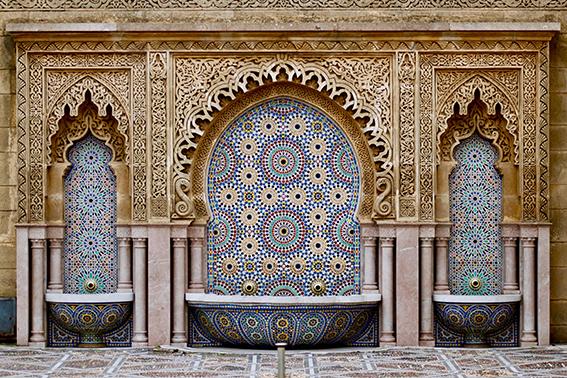 """""""Aladdin's Brunnen"""", Mausoleum Mohamed V, Rabat"""