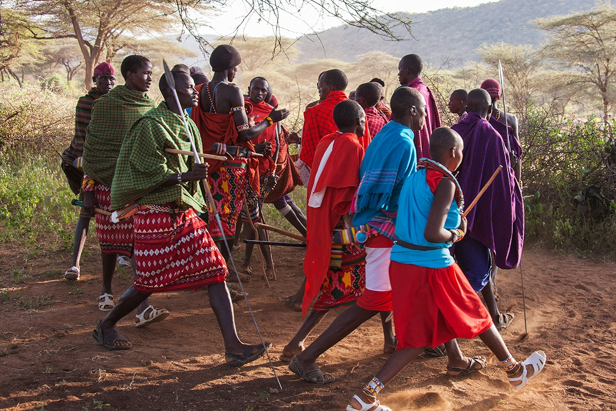 Massai in Kenia