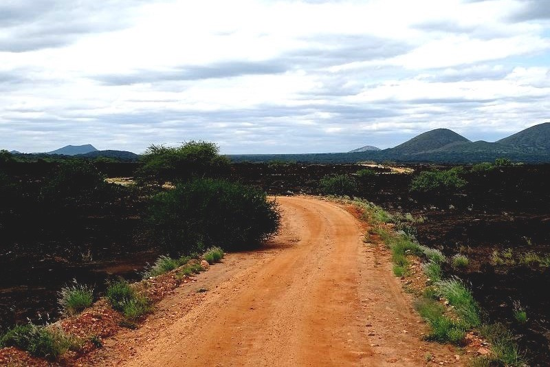 Safari im Tsavo West Nationalpark