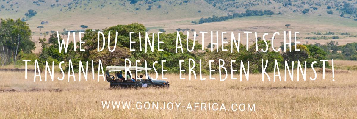 authentische Tansania Safari