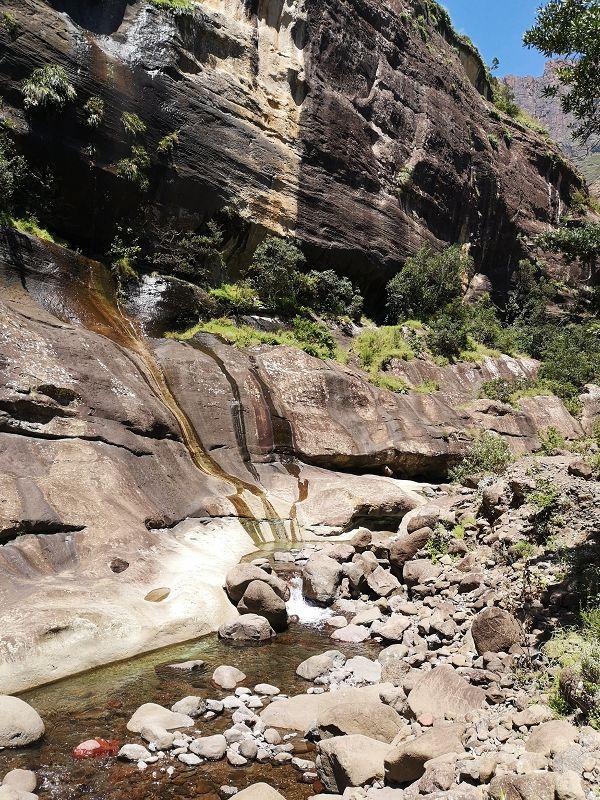 Drakensberge Wandern Südafrika