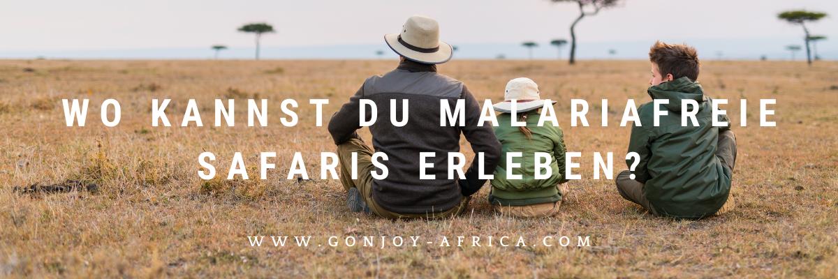 Malariafreie Safaris buchen