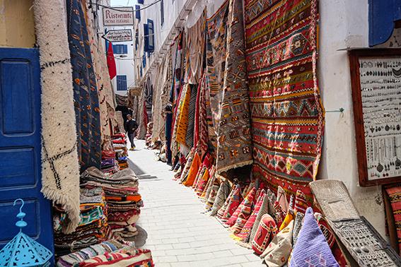 In den Gassen von Essaouira
