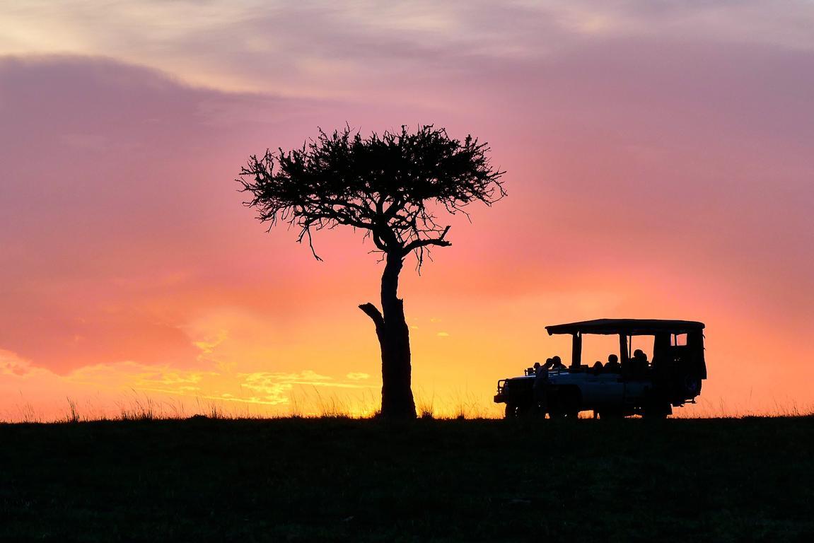 Sonnenuntergang in Olare Motorogi