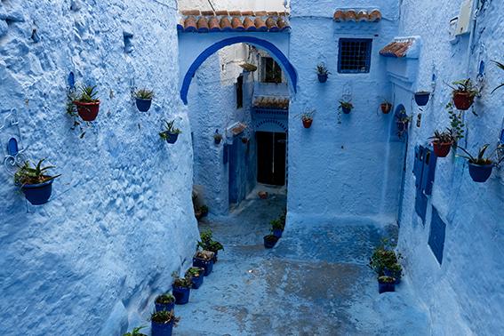 Die blauen Häuser von Chefchauoen
