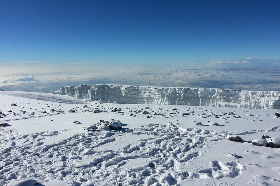 Landschaft auf dem Kilimanjaro