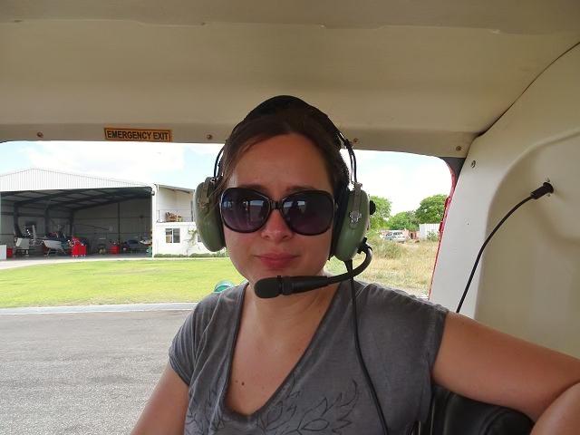 Jenny unterwegs auf einer Botswana Safari