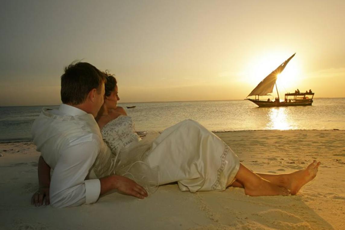 Sonnenuntergang von Sansibar