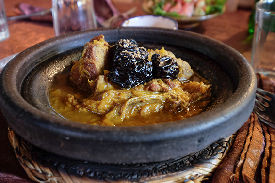 marokkanisches Tajinengericht