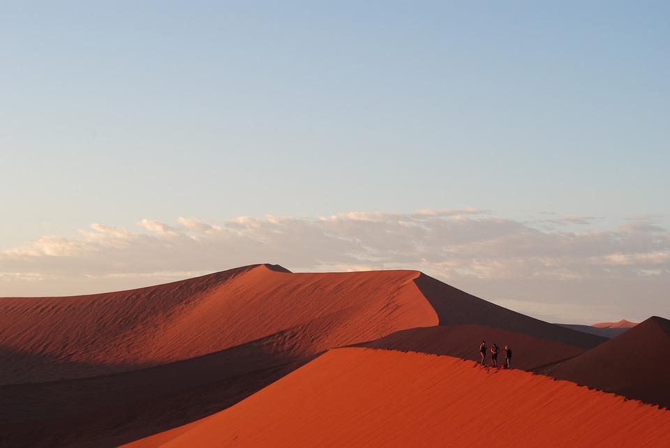 Dünenlandschaften in Namibia