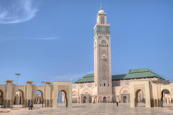 Hassan-II-Moschee, Casablanca