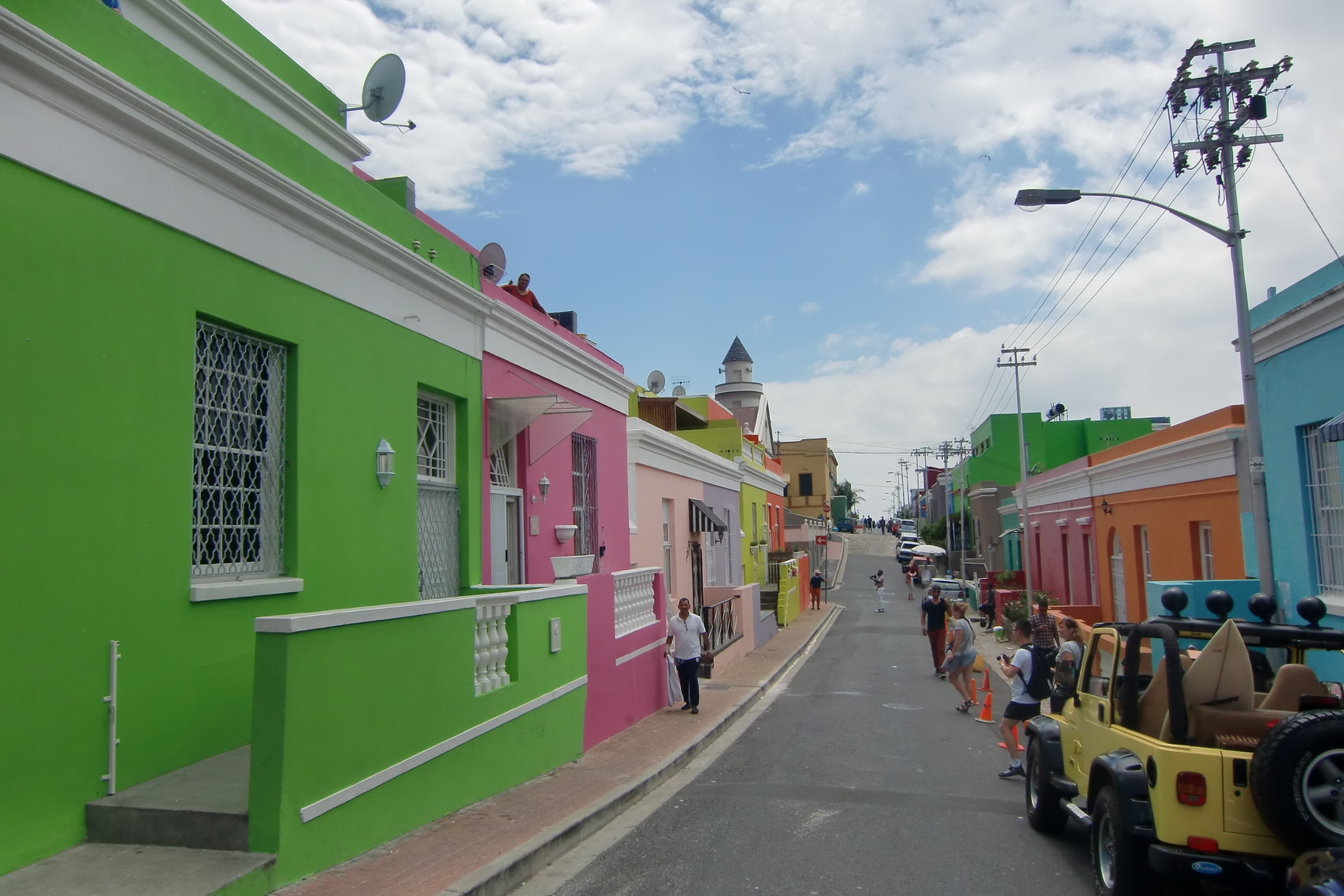 Bo-Kaap-Viertel in Kapstadt