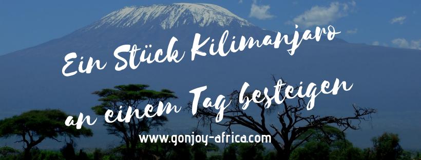Kilimanjaro Wanderung, Tansania Reise