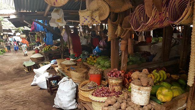 Markt in Tansania