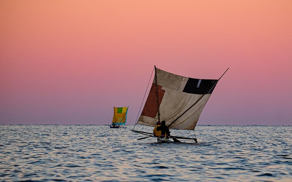 madagassische Fischerboote