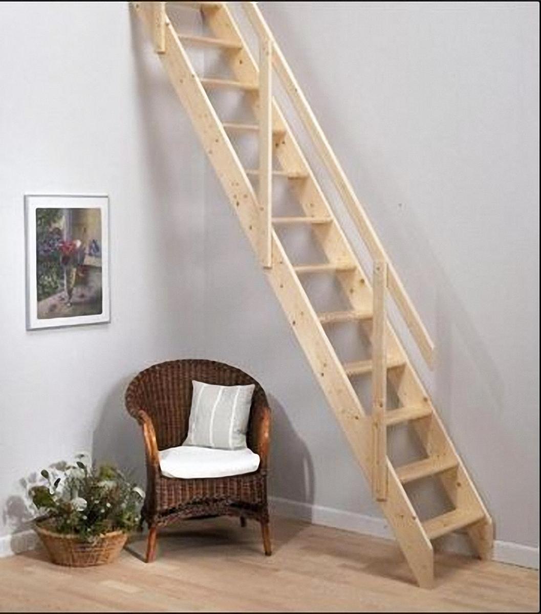 einfache Galerietreppe