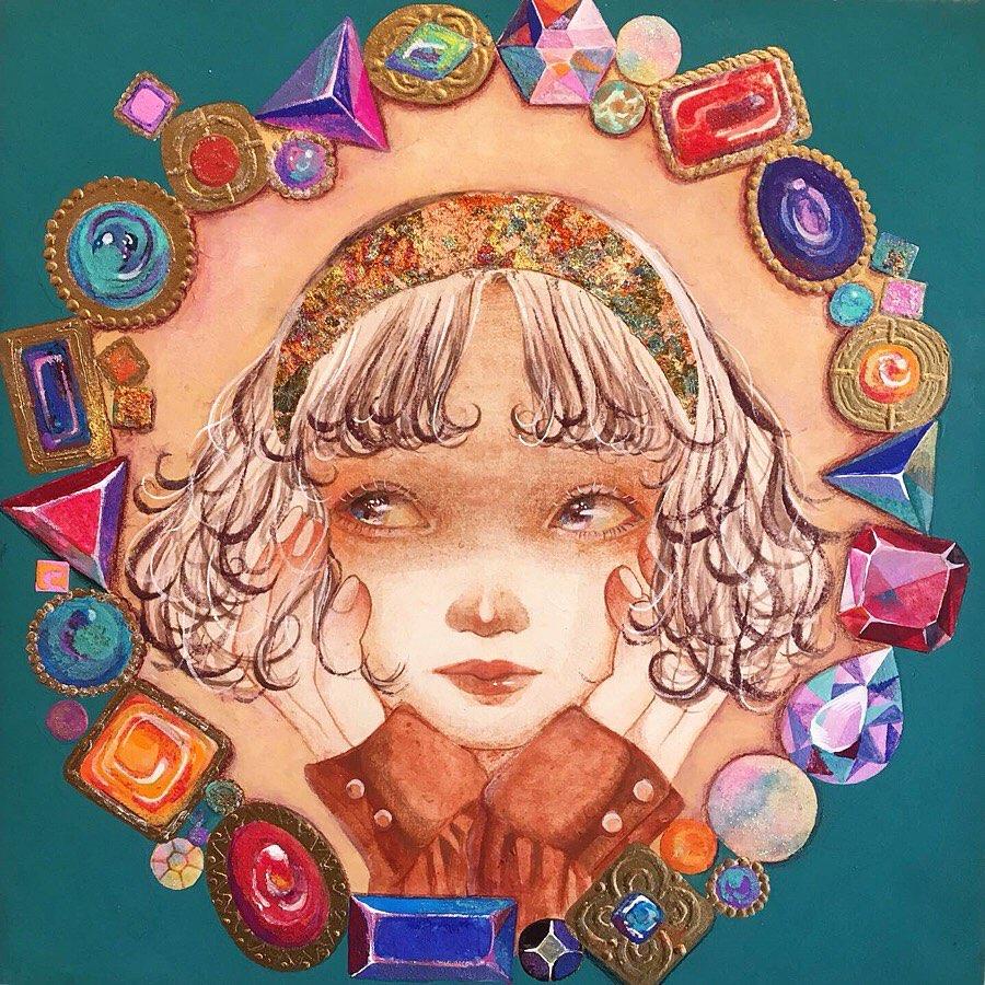 森乙樹 画「宝石箱みたい」