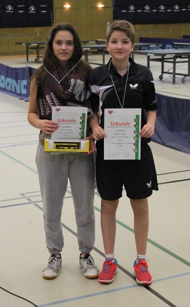 Evdokia Yankova und Antonia Walkenhorst