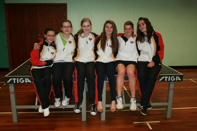 Das Mädchen-Team