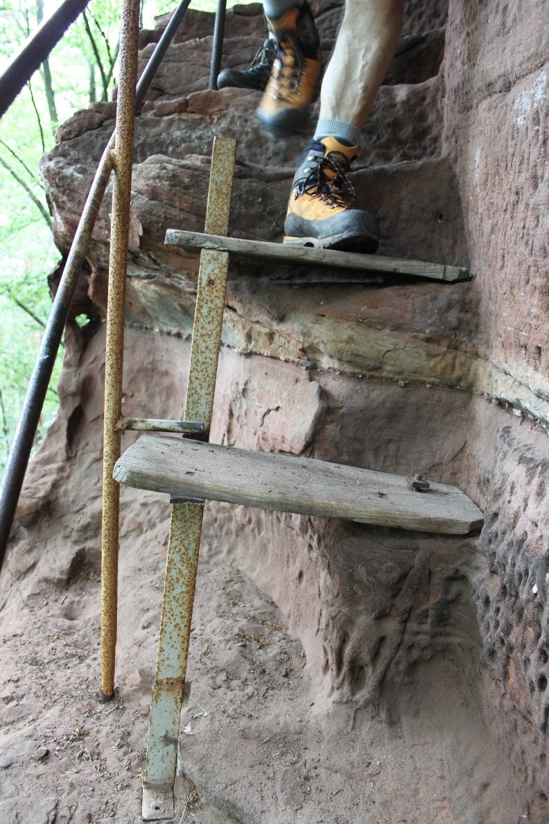 Treppe auf den Zigeunerfels