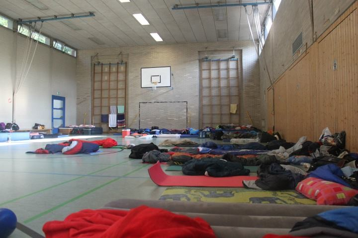 Unser Übernachtungslager