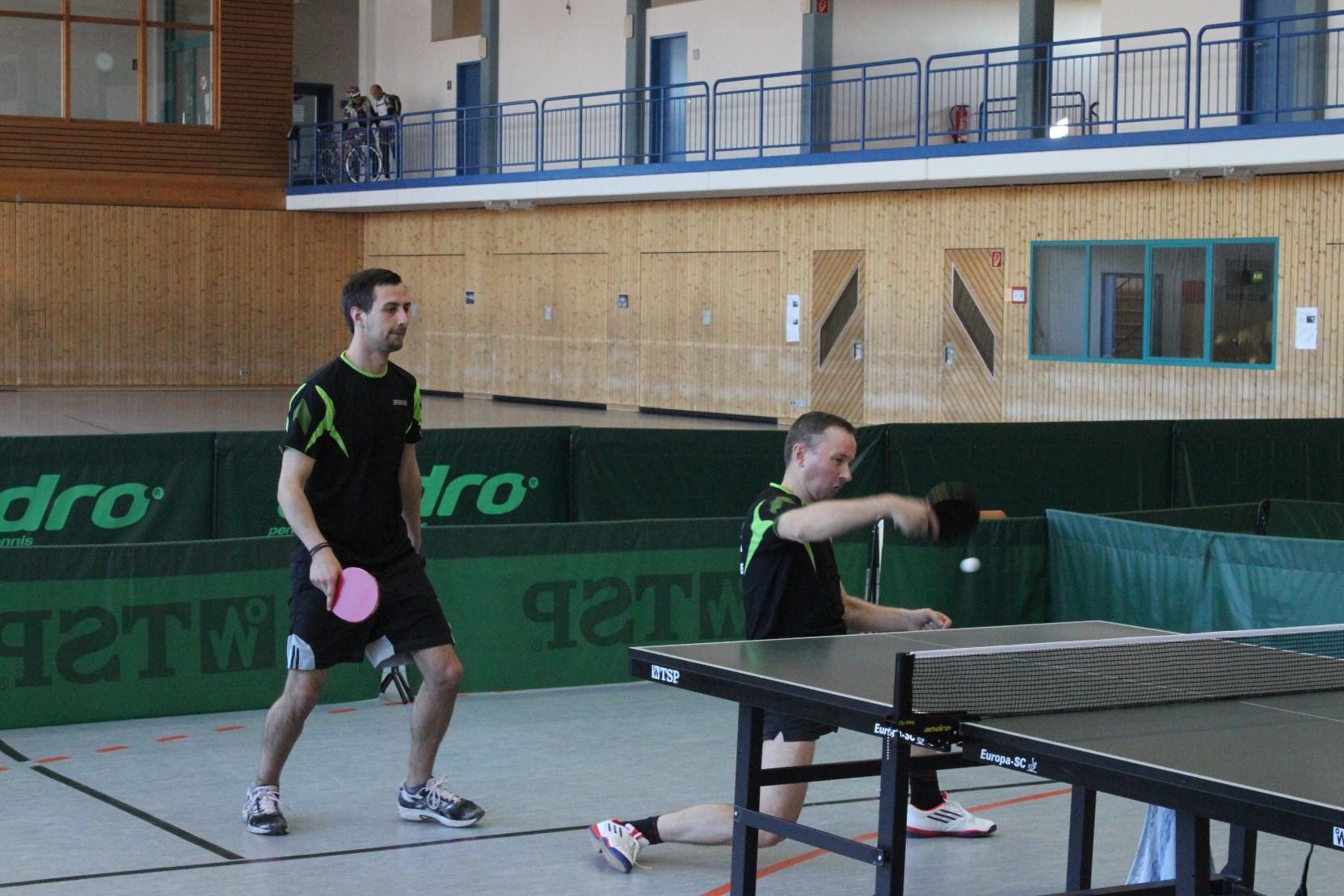 Pascal Bestges und Wolfgang Sailer