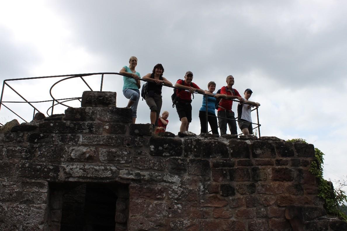 Auf Burg Wasigenstein