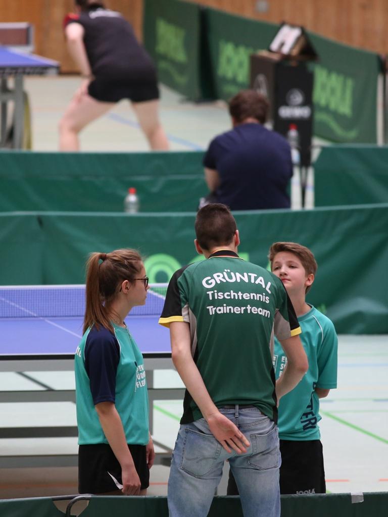 Fabian betreut Evdokia und Antonia