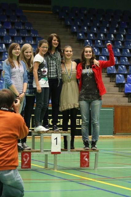 Team-Sieger Mädchen