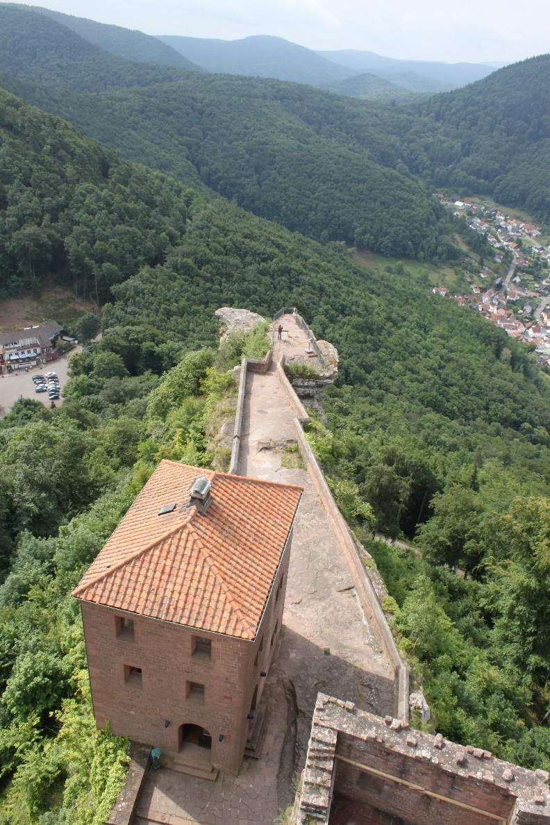 Ausblick von Burg Trifels