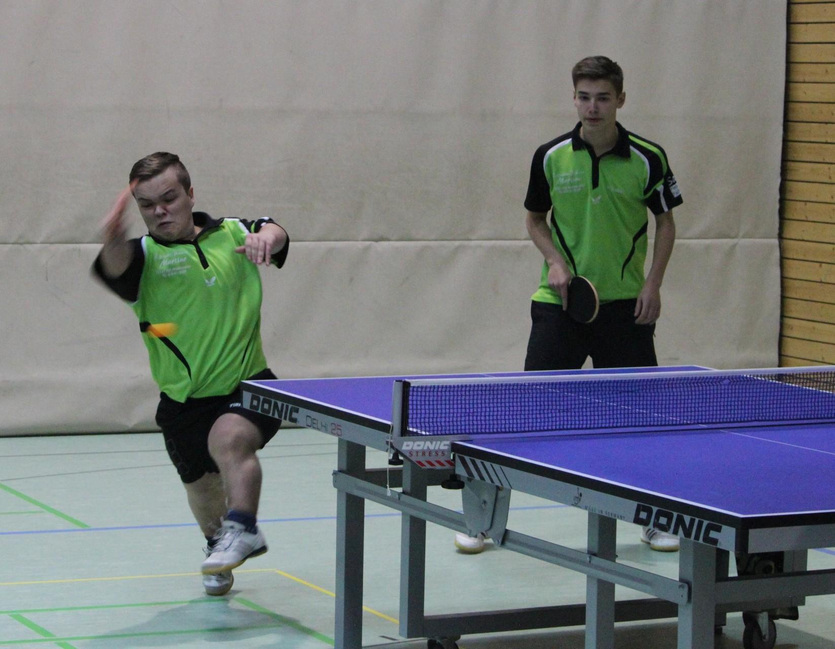 Moritz Blumenstock und Fabio Gruber