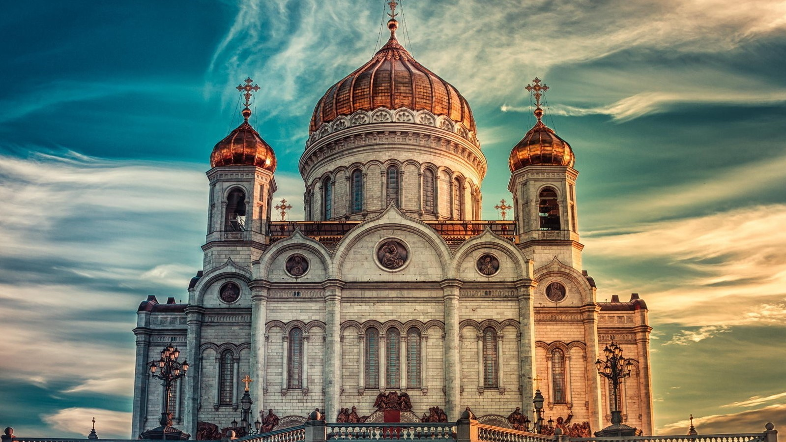 Moscow, the Cathedral of Christ the Savior