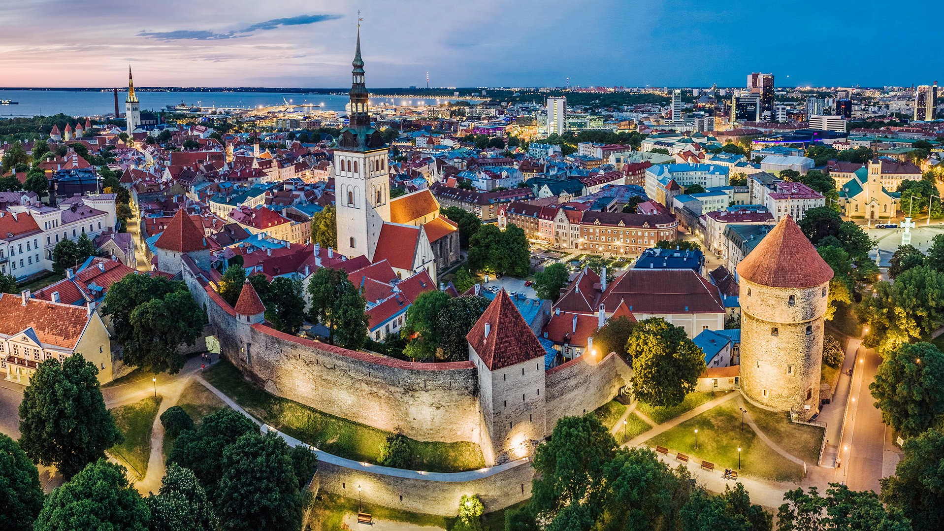 Tallinn, panoramic view