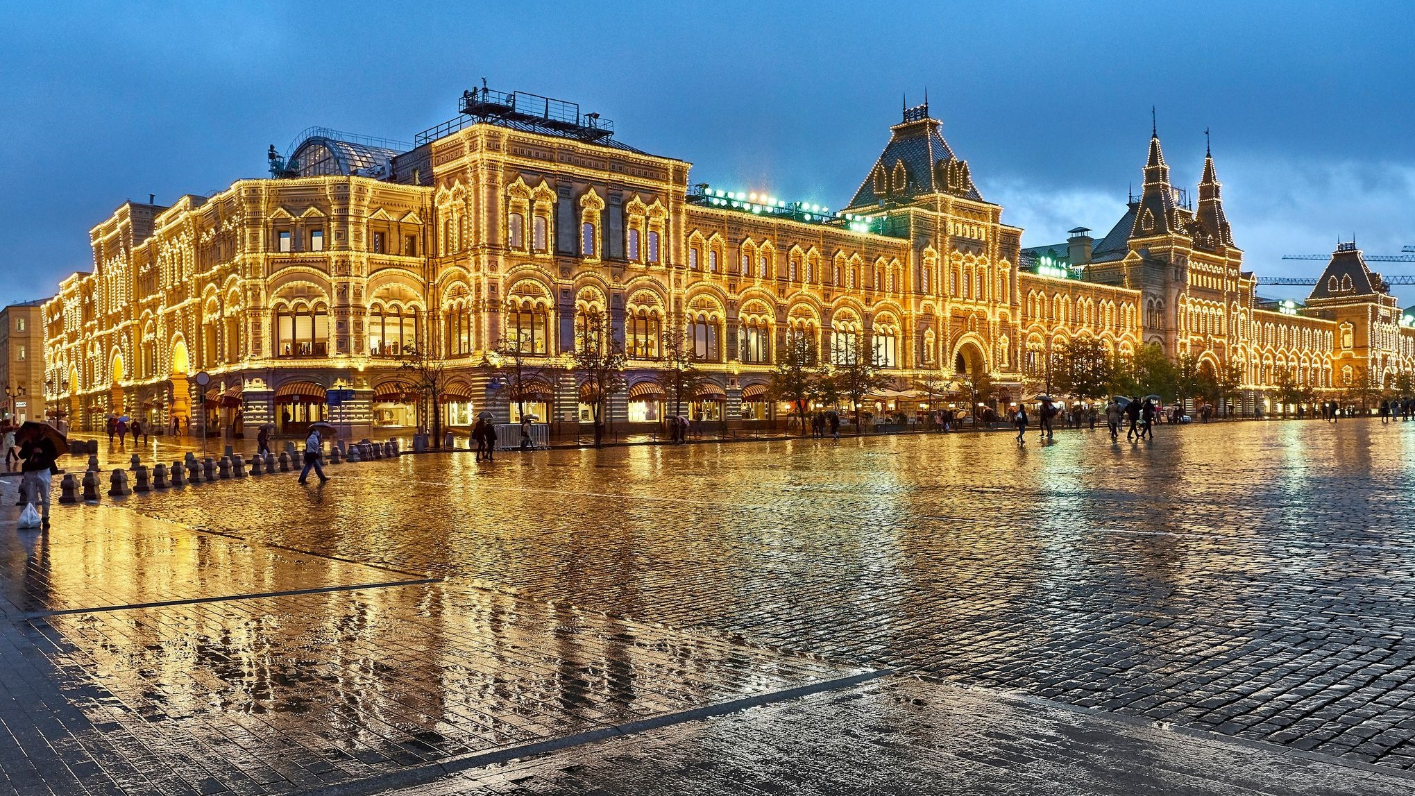 Moscow, GUM Department Store on the Red Square