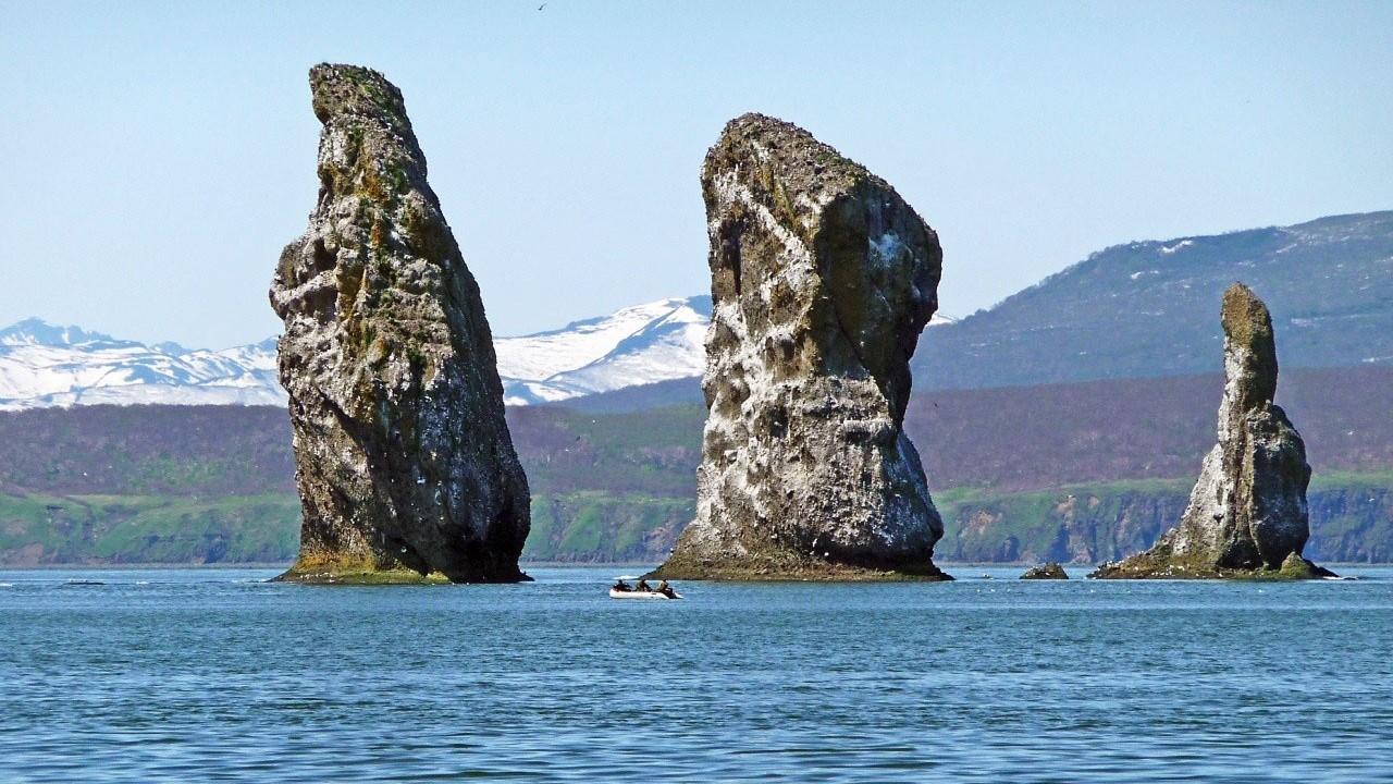 Avacha Bay, the Three Brothers
