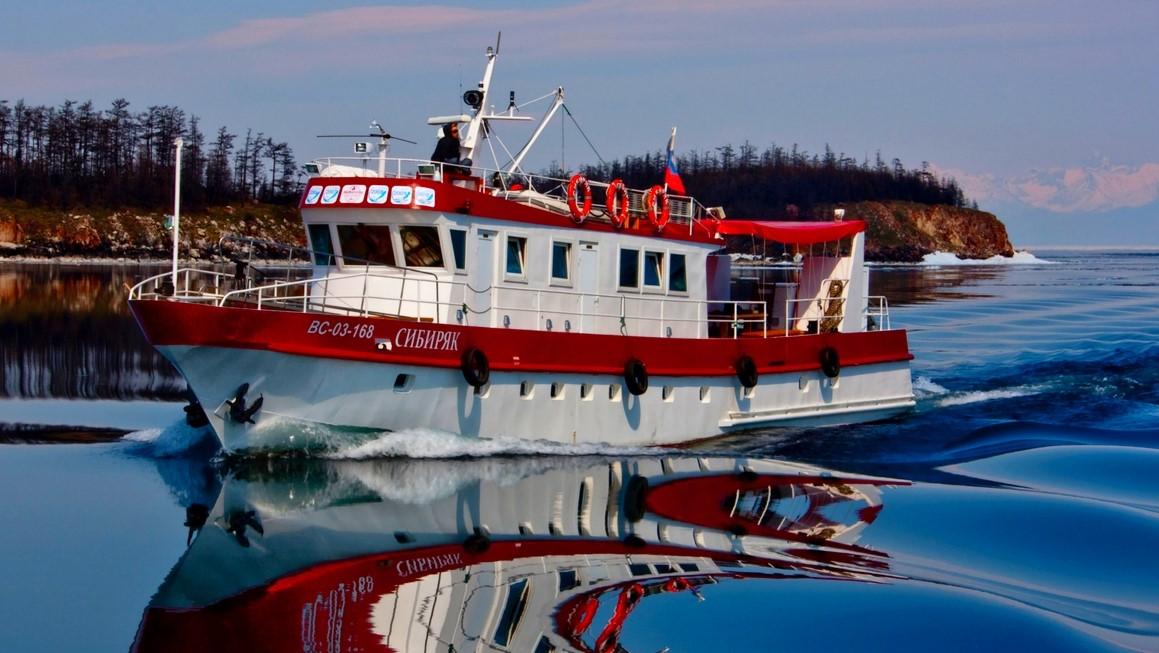Cruise ship SIBIRYAK