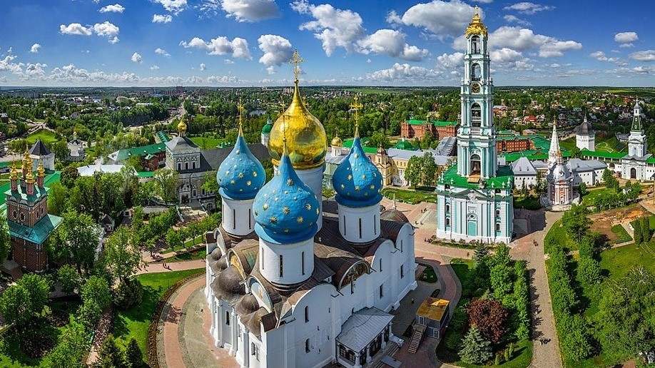 Sergiev Posad, the Trinity Lavra of St. Sergius