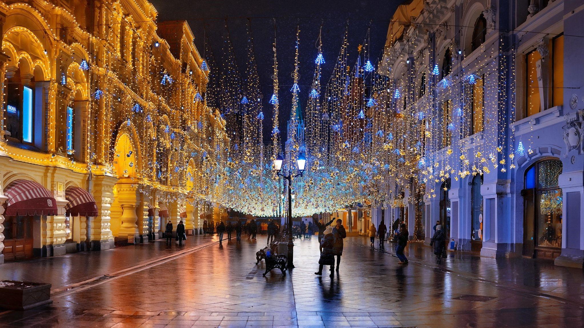 Moscow, Nikolskaya street