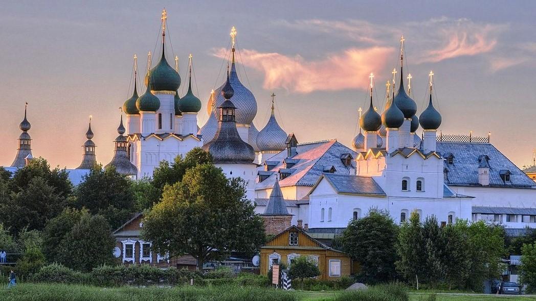 The Kremlin of Rostov Veliky
