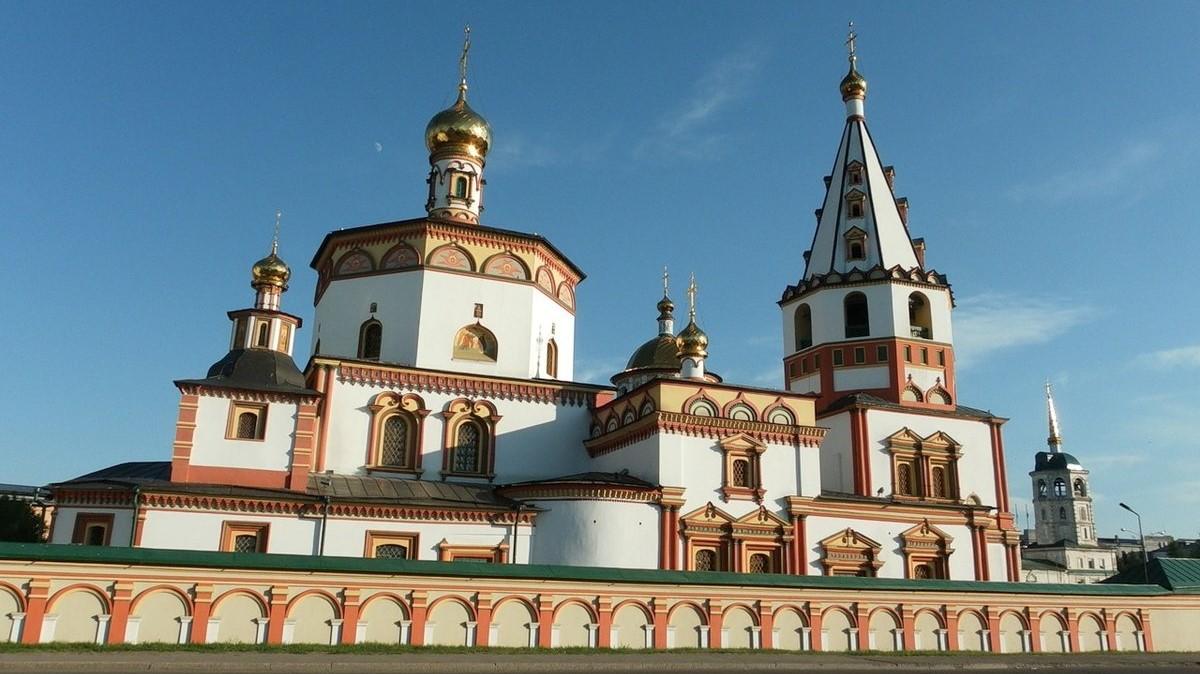 Irkustsk, the Epiphany Cathedral