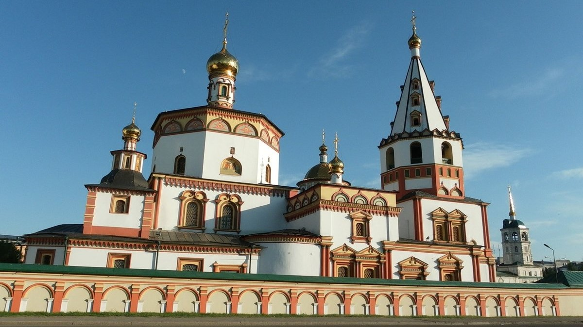 Irkustsk, the Epiphany Cathedral